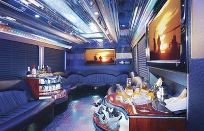 Party bus for 30 people