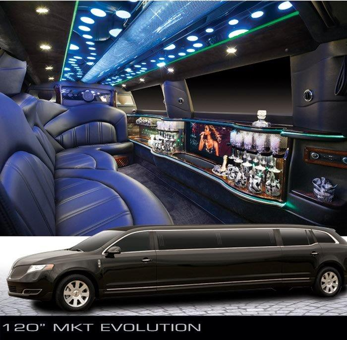 Lincoln MKT limousine