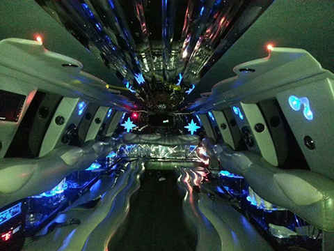 Expedition Limo Interior